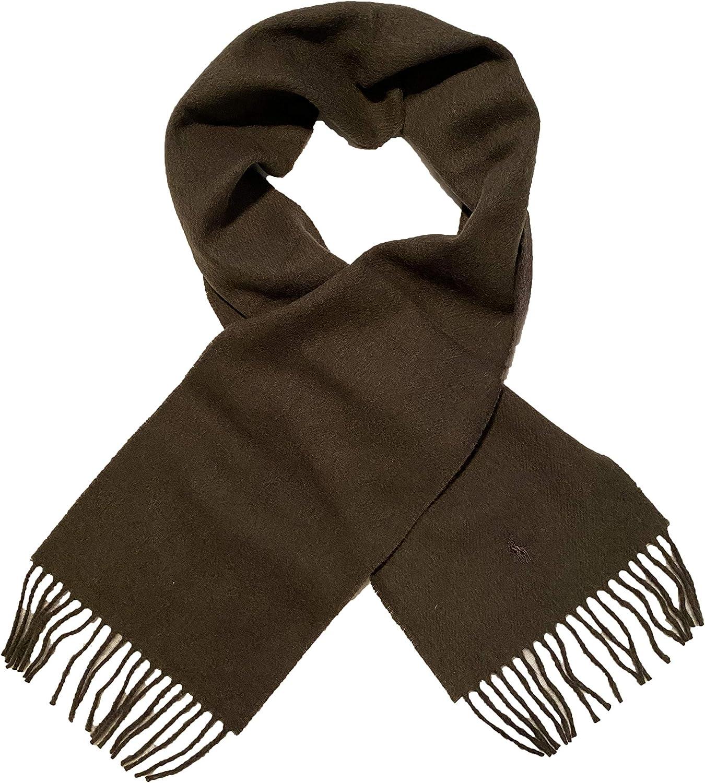 Polo Ralph Lauren Men`s Reversible Merino Wool Scarf