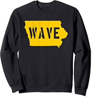 Iowa Wave Shirt Sweatshirt