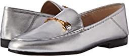 Silver Soft Metallic Sheep Leather