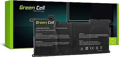 Green Cell  Laptop C23-UX21 Akku f r ASUS ZenBook UX21 UX21A UX21E UX21E-DH52  Li-Polymer Zellen 4800mAh 7 4V Schwarz