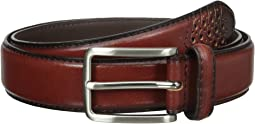 Stacy Adams - 32mm Full Grain Leather Top w/ All Leather Lining Cross Stitch Perforated Tip