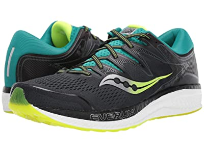 Saucony Hurricane ISO 5 (Green/Teal) Men