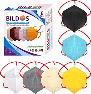 Bildos N95 Melt blown Layer Non-Woven Fabric Reuseable & Washable Mask with Adjustable Head loop - CE, ISO and GMP Certifi...