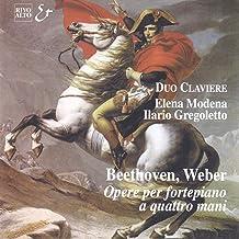 Weber: 6 Petites pièces faciles pour piano à 4 mains, Op. 3, No. 1: Sonatina in C Major