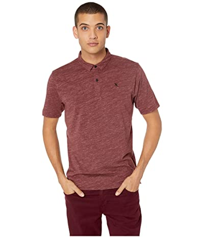 Hurley Dri-Fit Coronado Polo (Mahogany Heather) Men