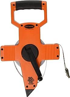 Keson OTR1050 Open Reel Fiberglass Tape Measure Reel (Graduations: 1/10, 1/100), 50-Foot