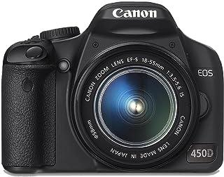 Canon EOS 450D - Cámara Réflex Digital 12.2 MP (Objetivo EF-S 18-55mm 1:3.5-5.6 IS) (Reacondicionado)