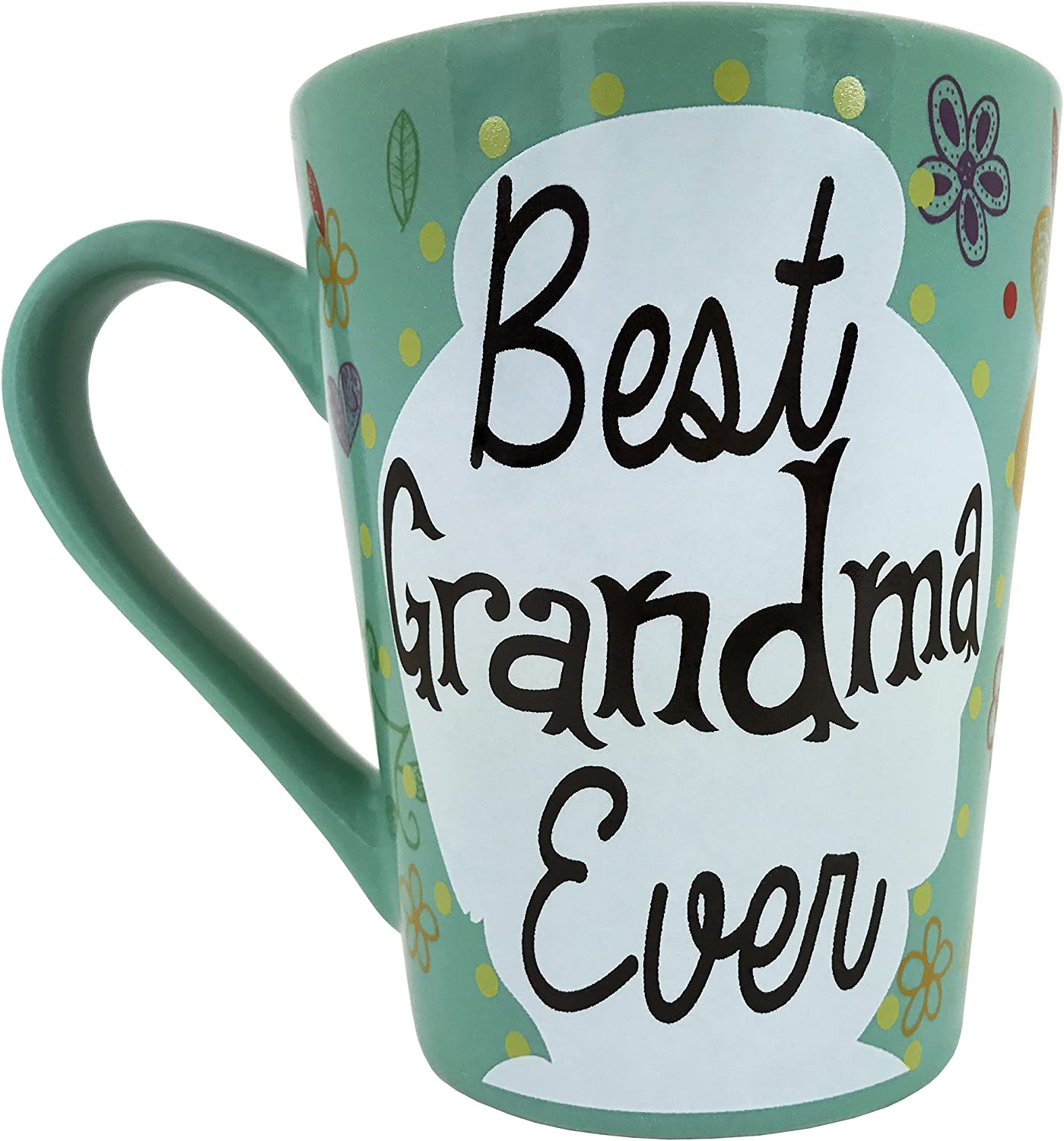 KINREX Mothers Day OFFicial mail order Coffee Mug Gifts Best - Ceramic 55% OFF Grandma Ever