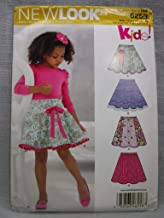 Simplicity Creative Patterns New Look 6258 Child's and Girls' Circle Skirts, A (3-4-5-6-7-8-10-12)