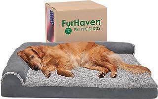 Furhaven Pet Dog Bed, Large Dog Beds for Large Dogs, Medium Small Dog Beds for Medium Small Dogs, Dog Bed Orthopedic Memor...