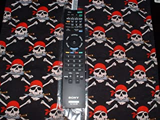 Sony LED 3D TV Bluray Remote Control RM-YD038 Supplied with TV models: XBR-46HX909 XBR-52HX909 KDL-40NX711 KDL-46NX711 KDL-46NX810 KDL-55NX810 KDL-60NX810 XBR-52LX900 XBR-60LX900