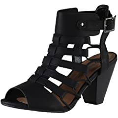 cad1d25f952 City Classified Womens Fashion Awesome Gladiator Strappy Chun .