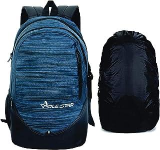 POLESTAR Ranker Blue Casual bagpack/Travel Laptop Backpack Bag with Rain Cover