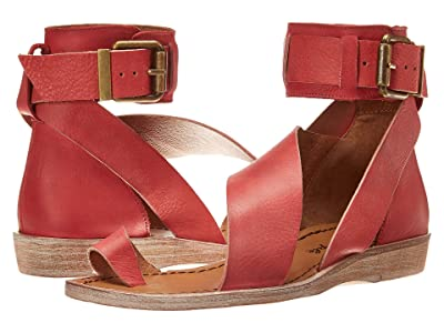 Free People Vale Boot Sandal (Red) Women