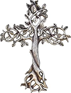 Old River Outdoors Tree of Life Wall Cross 11 1/2