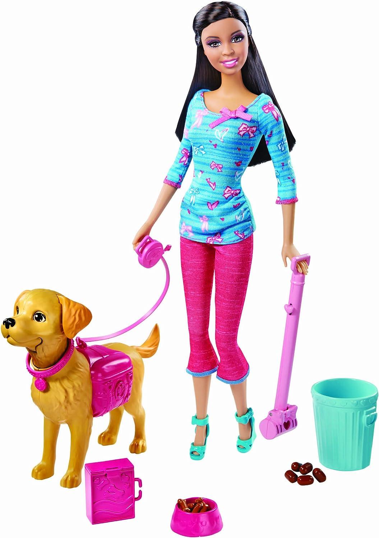 compra en línea hoy Barbie Potty Training Taffy Nikki Fashion Doll Doll Doll and Pet Jugarset  servicio honesto