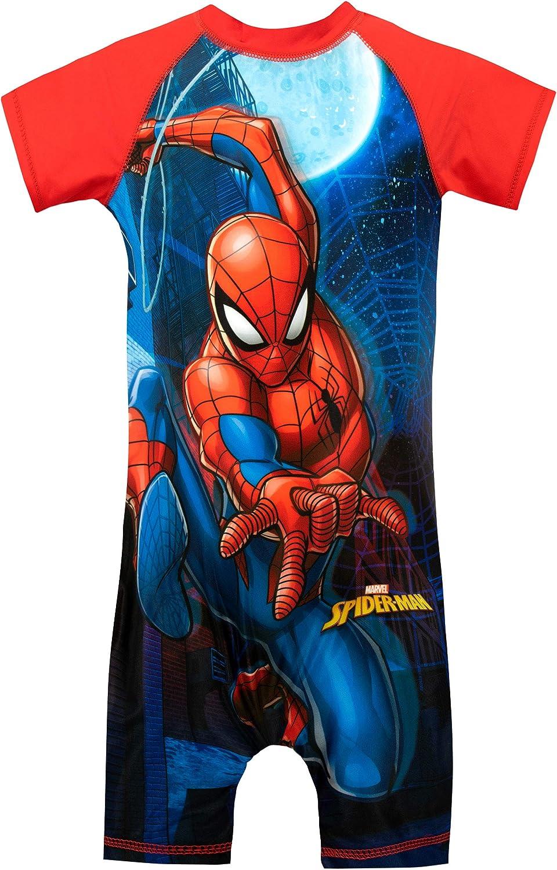 Marvel Boys' Spiderman Swimsuit