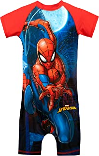 Marvel Boys Spiderman Swimsuit