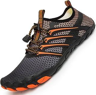 أحذية رياضية مائية للرجال والنساء جوارب طويلة الجفاف سريعة الجفاف على الشاطئ والسباحة وركوب الأمواج واليوغا