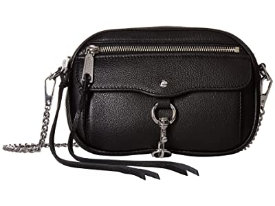 Rebecca Minkoff Blythe Crossbody (Black) Cross Body Handbags