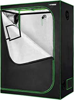 "VIVOSUN Horticulture 48""x24""x60"" Mylar Hydroponic Grow Tent with Obeservation Window and Floor Tray for Indoor Plant Growi..."