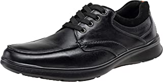 Men's Oxford Leather Casual Shoes for Men Retro Business Casual Shoes