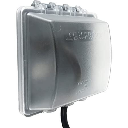Outlet Covers 2-Gang Weatherproof In Use Electrical Power Cover Double Outdoor