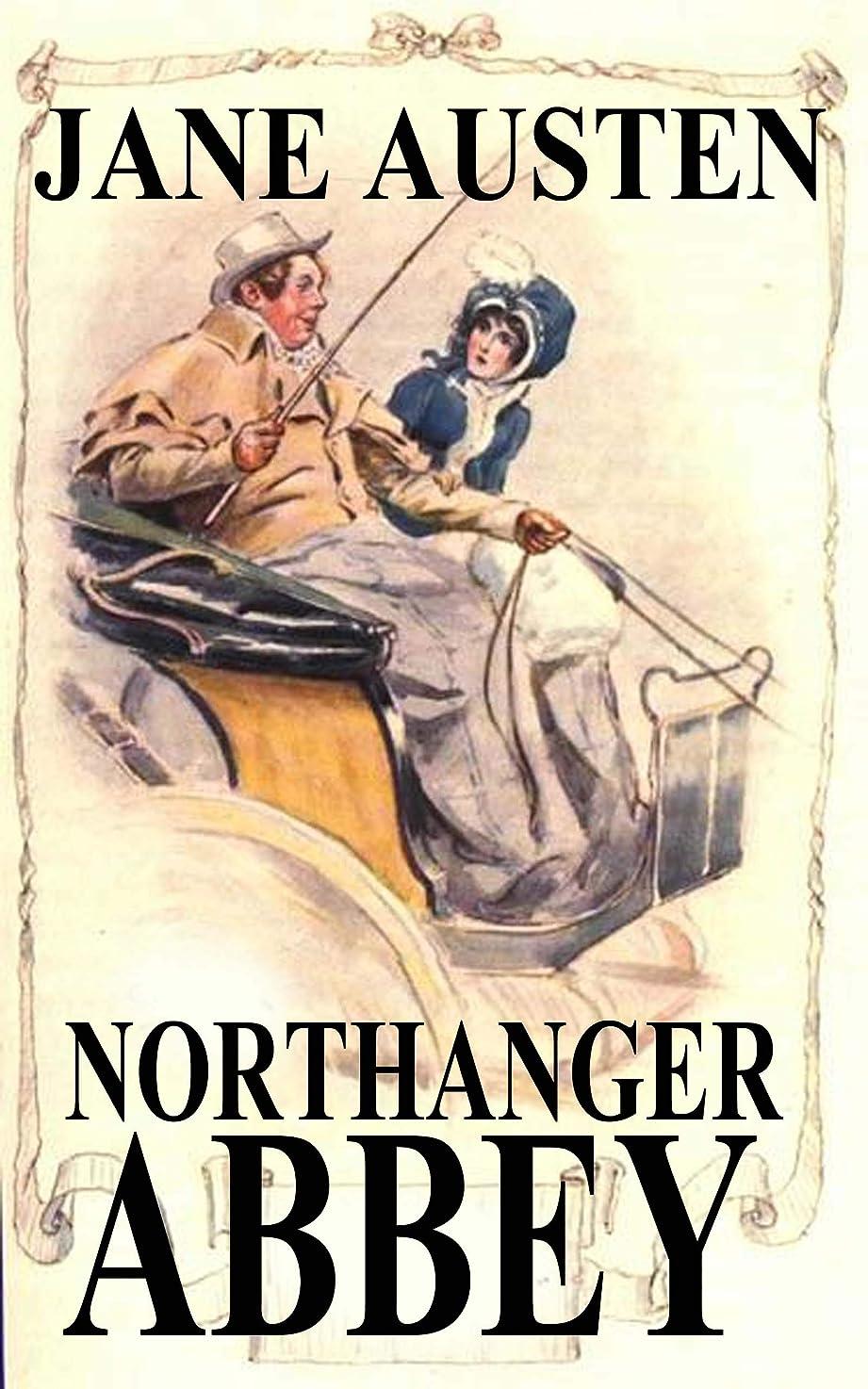 身元煙血まみれのNorthanger Abbey by Jane Austen (Illustrated) (English Edition)