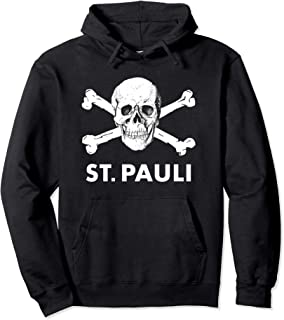 FC St. Pauli Skull Logo  - Official Merch Pullover Hoodie