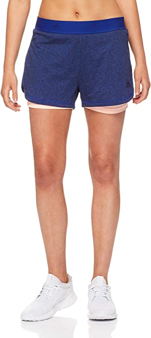 Adidas Women's 2 In 1 Soft Short