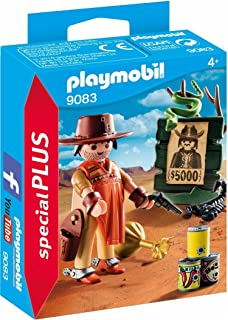 Playmobil Cowboy With Wanted Poster Building Play Set - 4 Years & Above - Multi Color