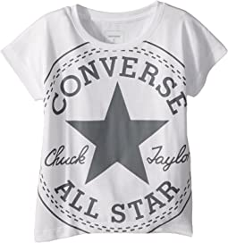 Converse Kids Oversized Chuck Femme Tee (Big Kids)