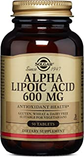 Solgar – Alpha Lipoic Acid 600 mg, 50 Tablets
