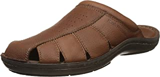 Hush Puppies Men's Decode Close MUL Leather Hawaii Thong Sandals