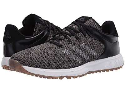 adidas Golf S2G (Core Black/Core Black/Grey Three) Men