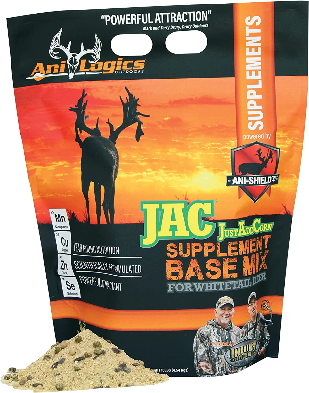 Ani-Logics Outdoors JAC Save money - Just Supplement Mix Base Corn Add Spring new work one after another