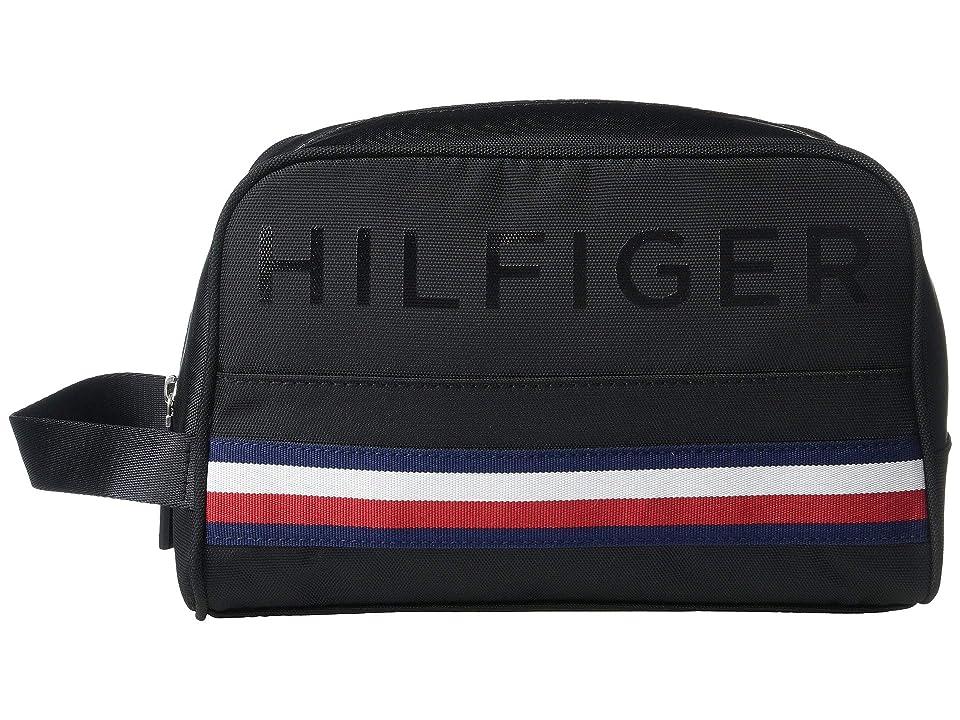 Tommy Hilfiger CS Colton Hilfiger Cordura Dopp Kit (Black) Wallet
