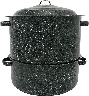 Granite Ware 19-Quart Enamel-on-Steel 2-Tier Clam-and-Lobster Steamer