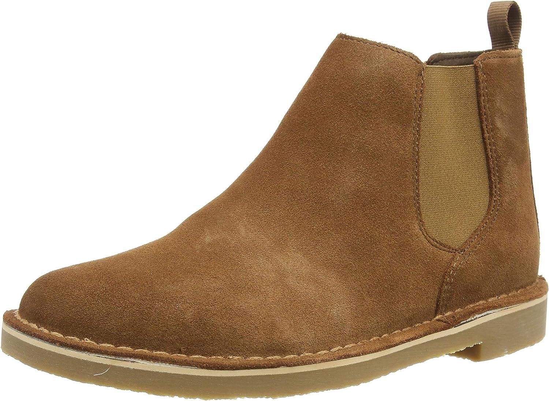 Clarks Men's Desert Chelseas 3 Boot Super beauty product restock quality top Max 90% OFF Black Bushacre