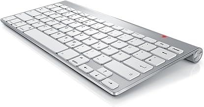 CSL – Wireless Slim Tastatur kabelloses Funk Keyboard 2,4G – Lightweight..