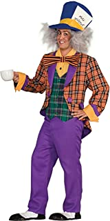 plus size mad hatter costume male