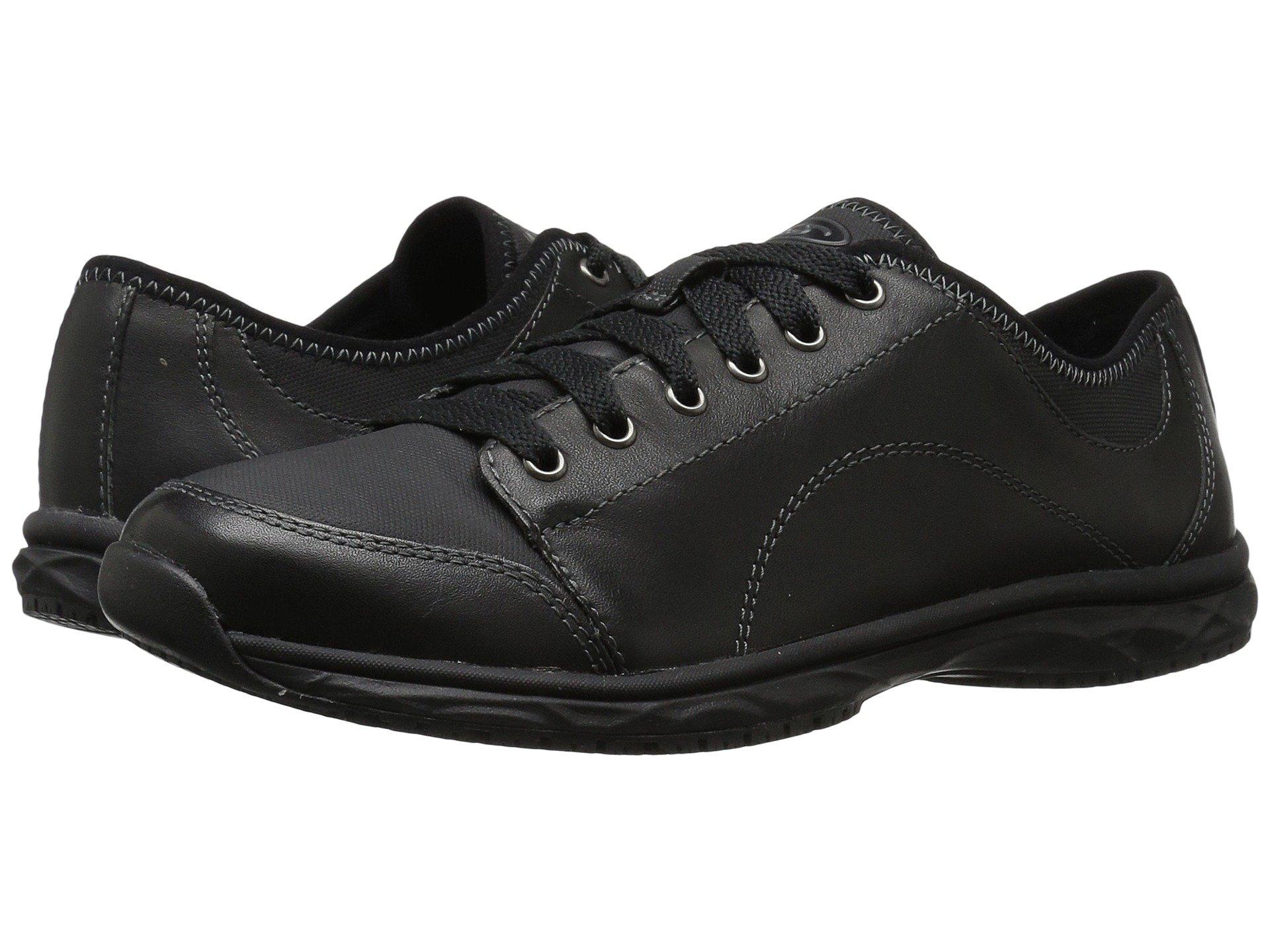 Brave Dr Scholl's Black Leather Work qxPfp