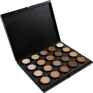 Mehron Makeup Celebre Pro-HD Cream Makeup, 20 Color Palette