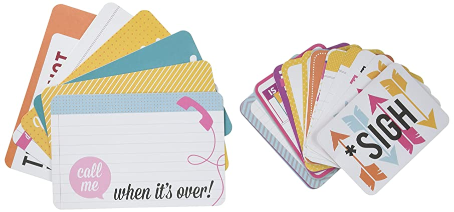 Project Life Perfectly Imperfect Themed Cards