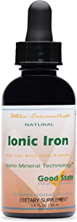 Good State Liquid Ionic Iron Ultra Concentrate (10 drops equals 2 mg - 100 servings per bottle)