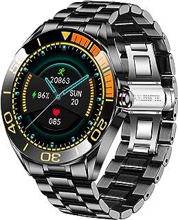 Smartwatch da Uomo LIGE, IP67 Impermeabile Fitness Tracker Orologi Frequenza Cardiaca Ossigeno Nel Sangue Monitor Della Pr...