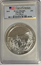 2011 P America The Beautiful 5oz .999 Silver - Glasier National Park - Montana Quarter MS69PL First Strike PCGS