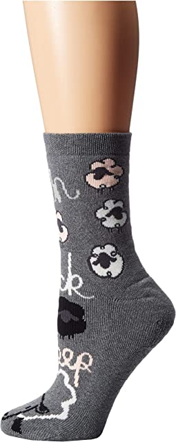 Novelty Cozy Slipper Sock with Grippers