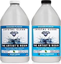 Epoxy Resin Art Resin Crystal Clear Formula- The Artist`s Resin for Coating, Casting, Resin Art, Geodes, Tabletop, Bar Top, Live Edge Tables, River Tables- Non-Toxic -1 Gallon Kit