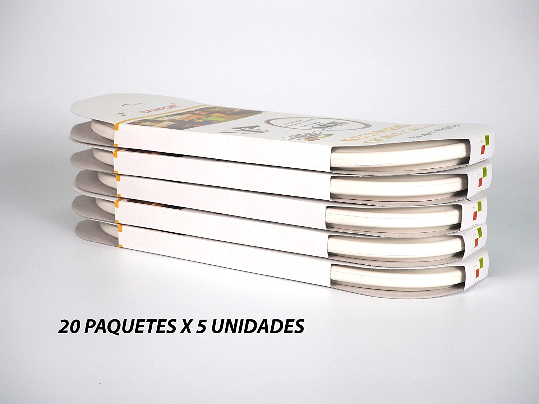 mejor marca Sanfor 80029 Caja 100 Junta de olla rápida tipo tipo tipo MAG, (20 paquetes de 5 unidades), Caucho, blancoO  ventas directas de fábrica